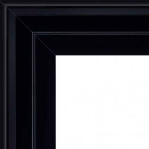 cadre caisse americaine encadrement caisse am ricaine noire carr format carr sur cadre. Black Bedroom Furniture Sets. Home Design Ideas