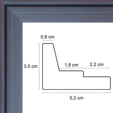 cadre caisse americaine cadre caisse americaine noire. Black Bedroom Furniture Sets. Home Design Ideas