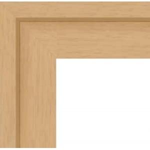 cadre caisse americaine cadre caisse am ricaine bois naturel format triple carr sur cadre. Black Bedroom Furniture Sets. Home Design Ideas