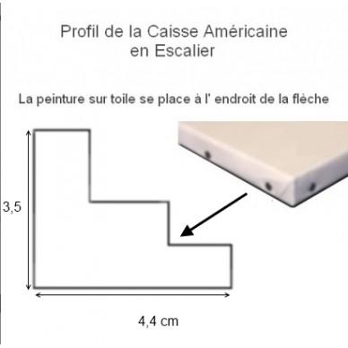 cadre caisse americaine cadre caisse am ricaine or carr format carr sur cadre caisse. Black Bedroom Furniture Sets. Home Design Ideas