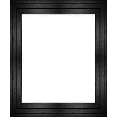 cadre caisse americaine caisse americaine en u noire pour encadrer photo sur dibond sur cadre. Black Bedroom Furniture Sets. Home Design Ideas