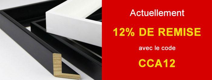12% de remise avec le code CCA12